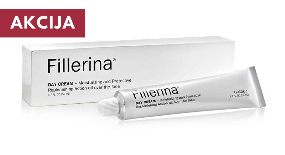 FILLERINA® Dieninis kremas su 6 hialurono  rūgštimis ir peptidais 3 lygis, 50 ml