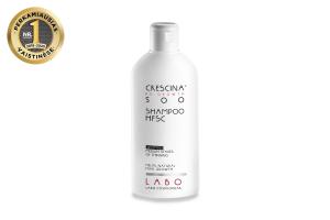 CRESCINA RE-GROWTH pilinguojantis šampūnas MOTERIMS, 500 stiprumo, 200 ml