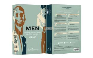 """Maisto papildų DOVANŲ rinkinys vyrams """"MEN"""" (60 pakelių)"""