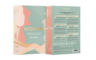 """Maisto papildų DOVANŲ rinkinys moterims """"WOMAN"""" (60 pakelių)"""