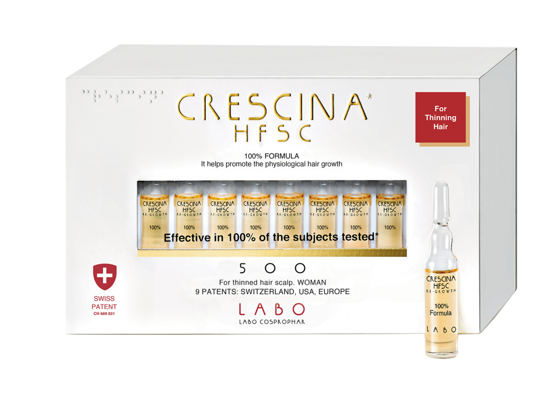 CRESCINA  RE-GROWTH HFSC 500, 40 vnt. WOMAN