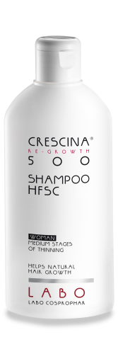 ŠAMPŪNAS CRESCINA RE-GROWTH HFSC 500 WOMAN