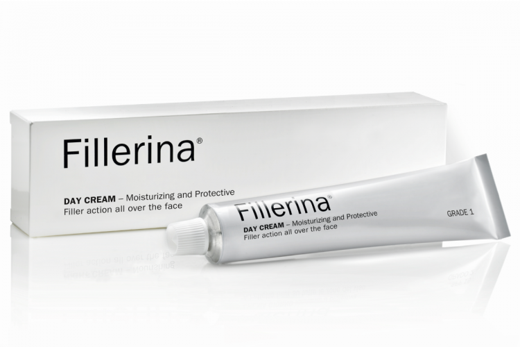 FILLERINA® Dieninis kremas su 6 hialurono rūgštimis ir peptidais 1 lygis, 50 ml