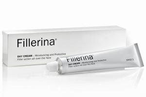 FILLERINA® Dieninis kremas su 6 hialurono rūgštimis ir peptidais 2 lygis, 50 ml