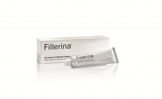 FILLERINA® paakių ir lūpų kremas su 6 hialurono rūgštimis ir peptidais 2 lygis, 15 ml.