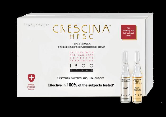 CRESCINA RE-GROWTH HFSC 1300 WOMAN kompleksas