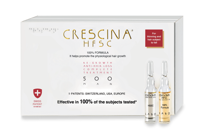 CRESCINA RE-GROWTH HFSC 500 MAN kompleksas