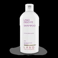 LABO DELICATE šampūnas jautriai galvos odai su 3 HA rūgštimis VYRAMS, 200 ml